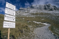 Paths to German Alpine Club Huts